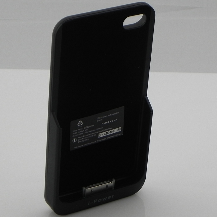 mobile power - external power pack for iPhone 4G - 2200mAh