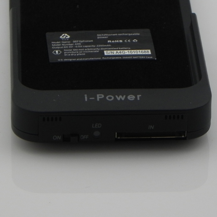 mobile power - external power pack for iPhone 4G - 2200mAh- image 3